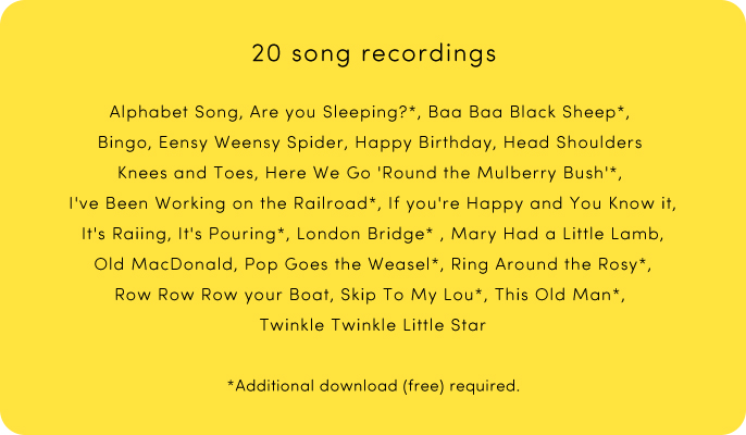 20 song recordings