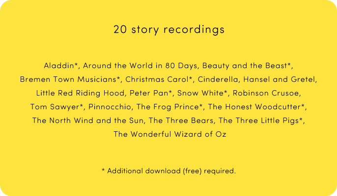 20 story recordings